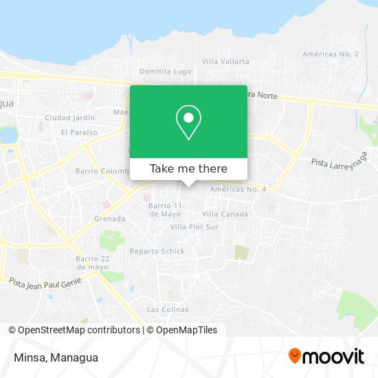 Minsa map