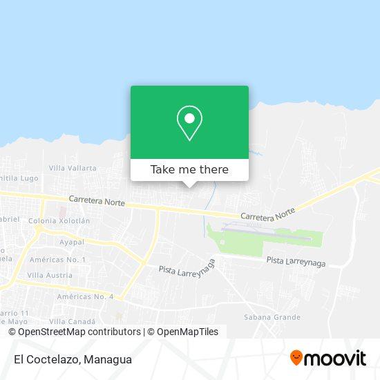 El Coctelazo map