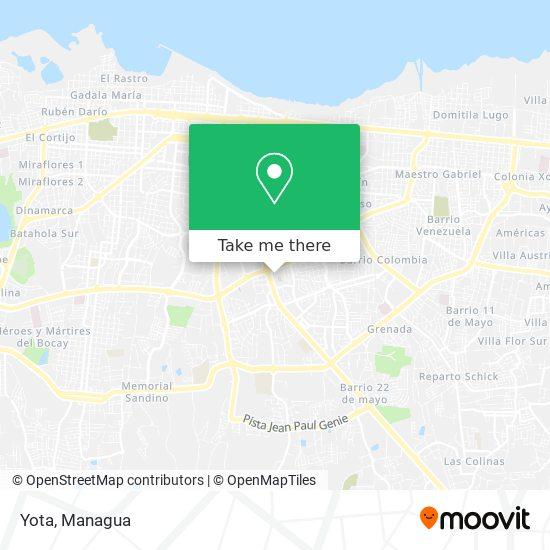 Yota map