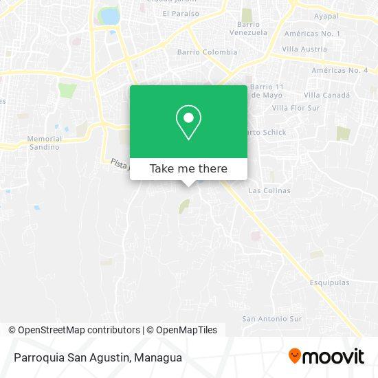 Parroquia San Agustin map