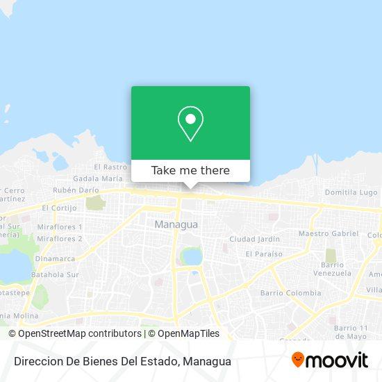 Direccion De Bienes Del Estado map