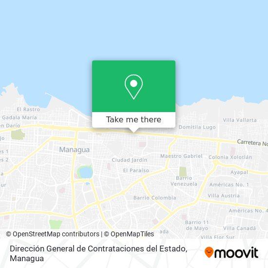 Dirección General de Contrataciones del Estado map