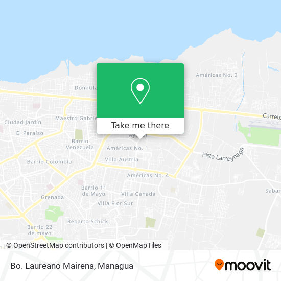 Bo. Laureano Mairena map