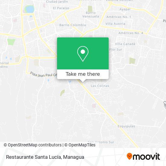 Restaurante Santa Lucía map