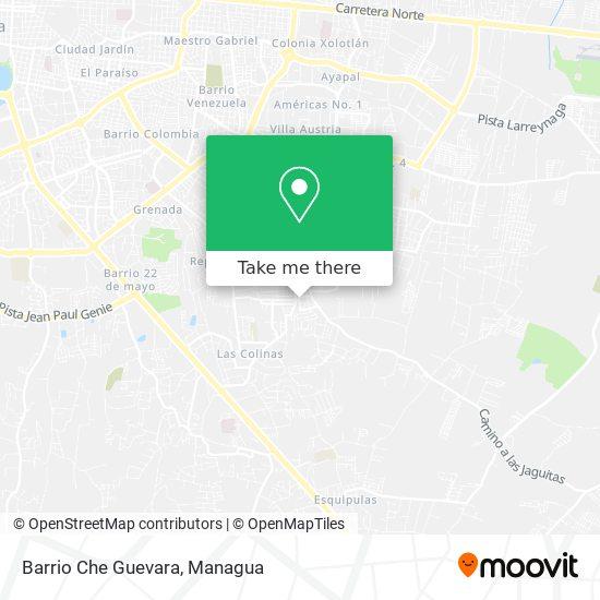 Barrio Che Guevara map