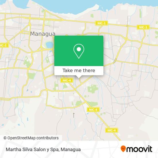Martha Silva Salon y Spa map