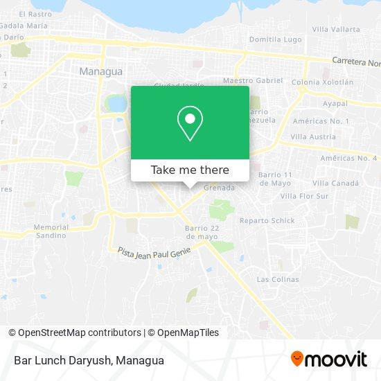 Bar Lunch Daryush map
