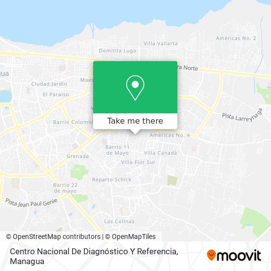 Centro Nacional De Diagnóstico Y Referencia map