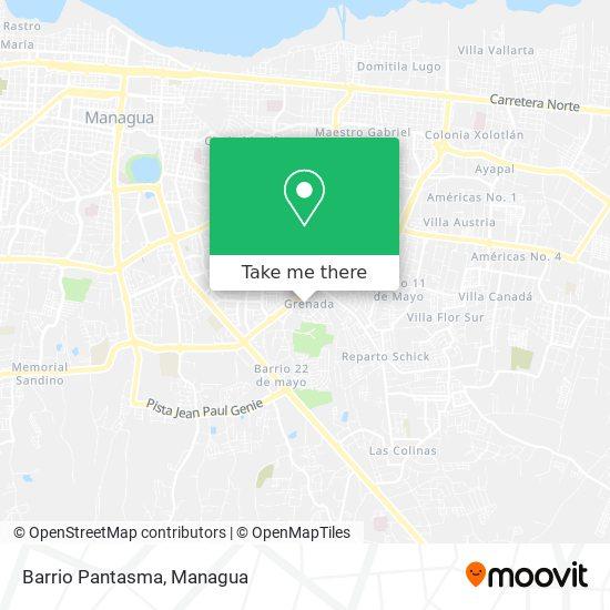 Barrio Pantasma map