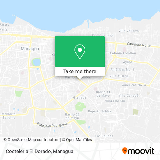 Cocteleria El Dorado map