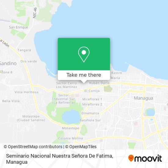 Seminario Nacional Nuestra Señora De Fatima map