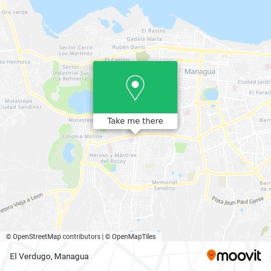 El Verdugo map
