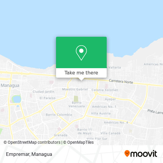 Empremar map