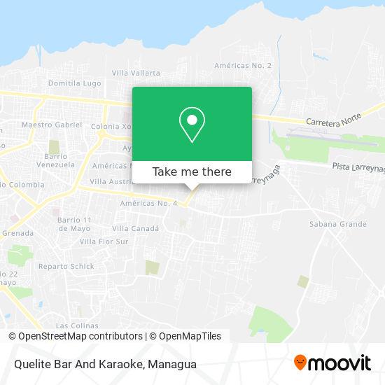 Quelite Bar And Karaoke map