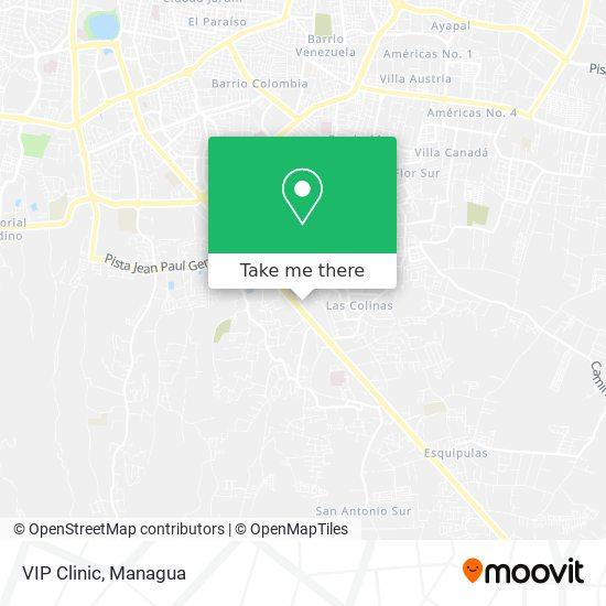 VIP Clinic map