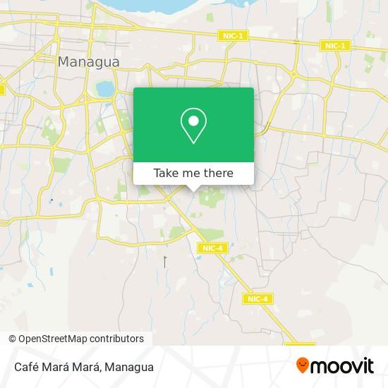 Café Mará Mará map