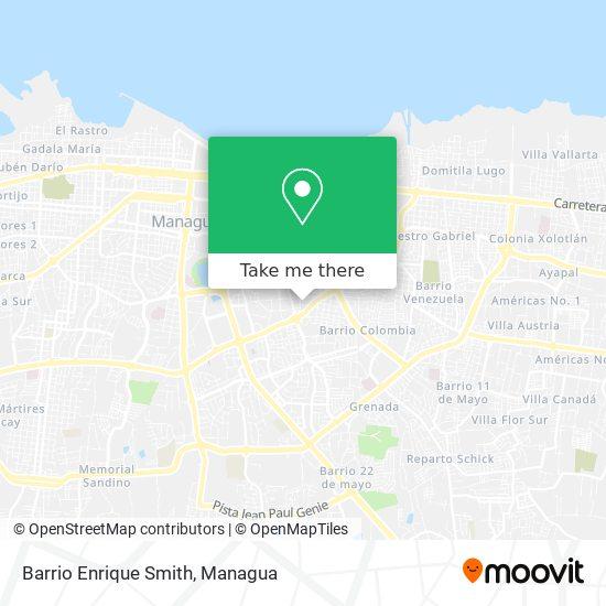 Barrio Enrique Smith map