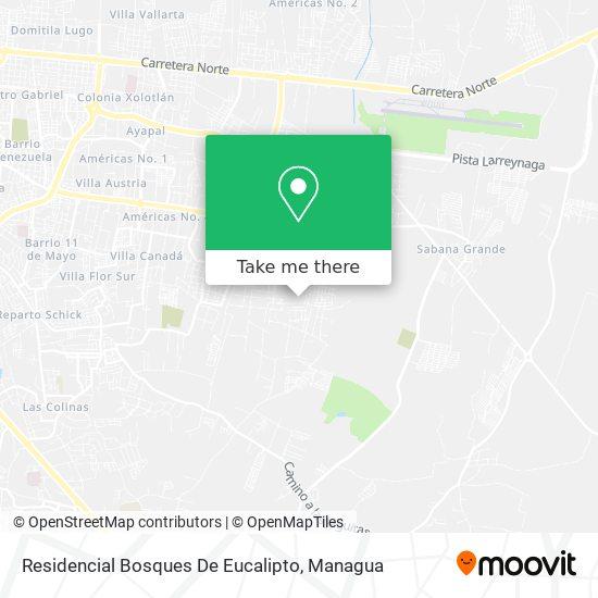 Residencial Bosques De Eucalipto map