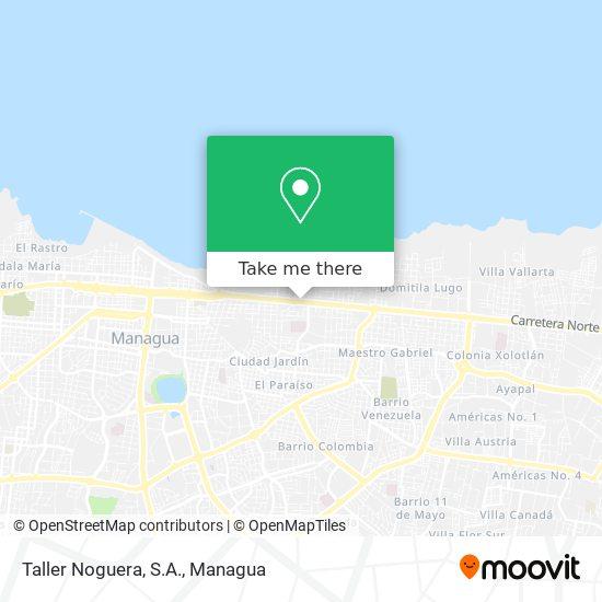 Taller Noguera, S.A. map