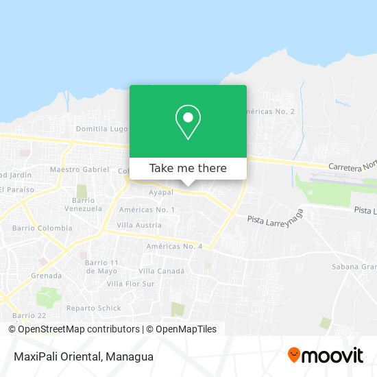 MaxiPali Oriental map