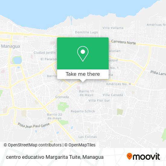 centro educativo Margarita Tuite map