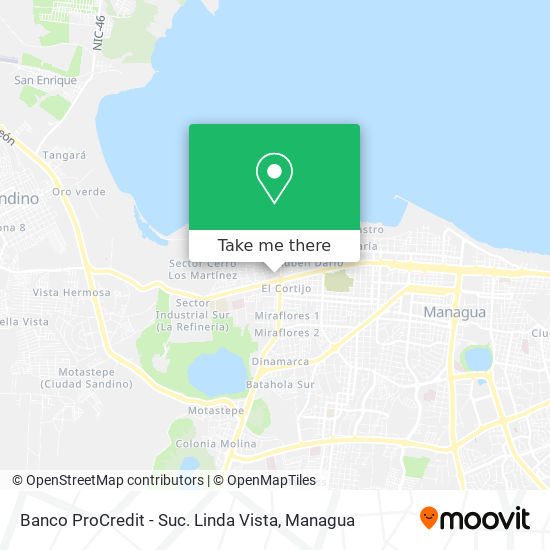 Banco ProCredit - Suc. Linda Vista map