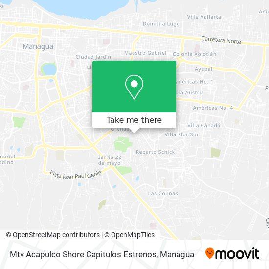 Mtv Acapulco Shore Capitulos Estrenos map