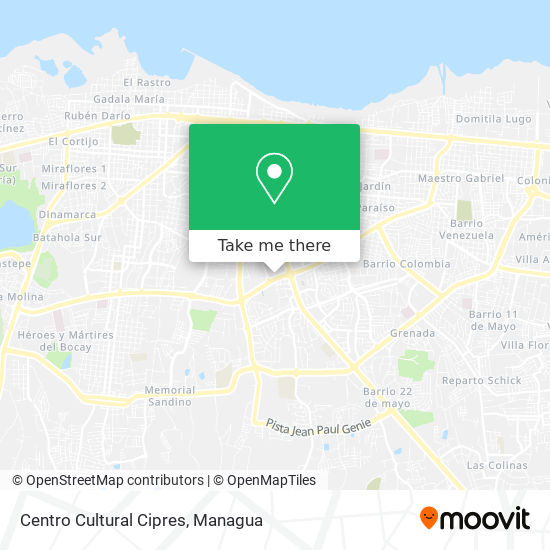 Centro Cultural Cipres map