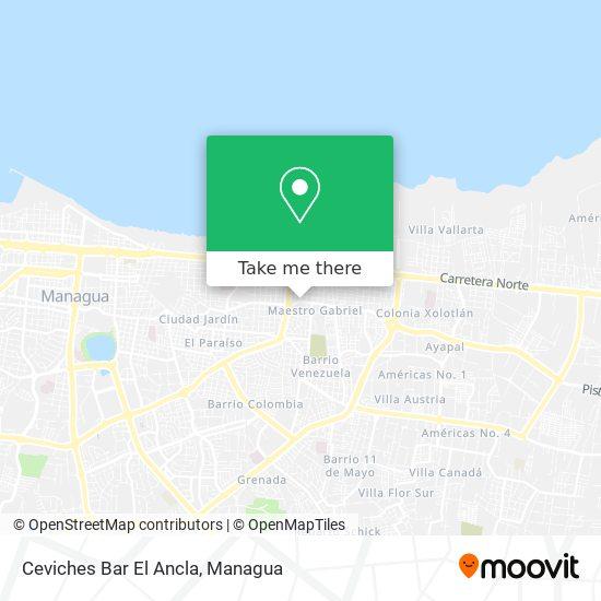 Ceviches Bar El Ancla map