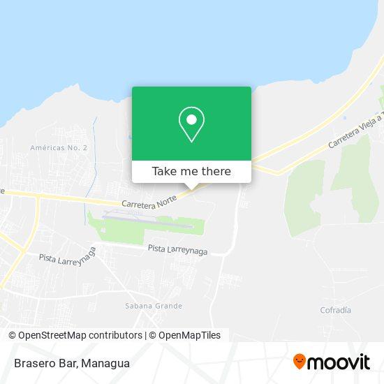 Brasero Bar map