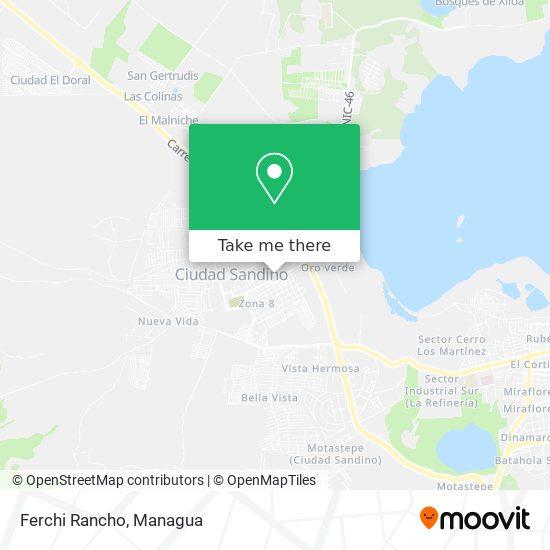 Ferchi Rancho map