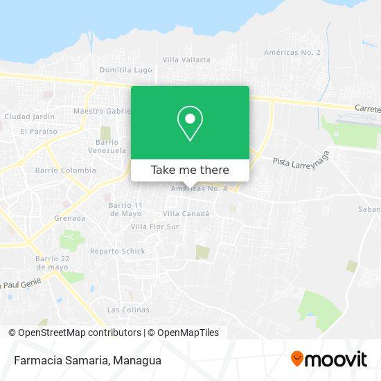 Farmacia Samaria map