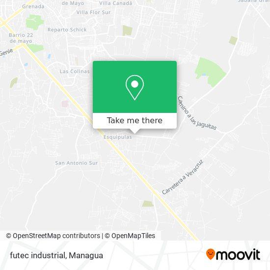 futec industrial map