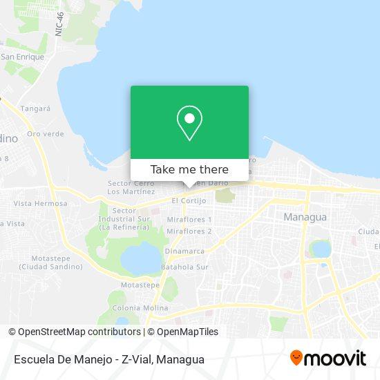 Escuela De Manejo - Z-Vial map