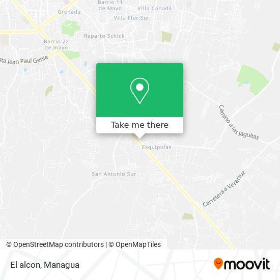 El alcon map