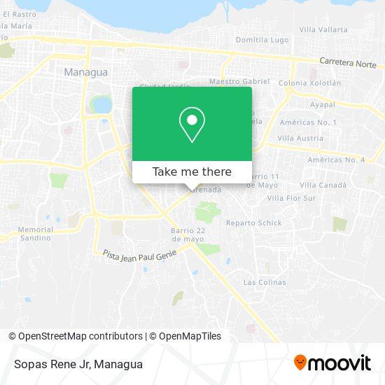 Sopas Rene Jr map