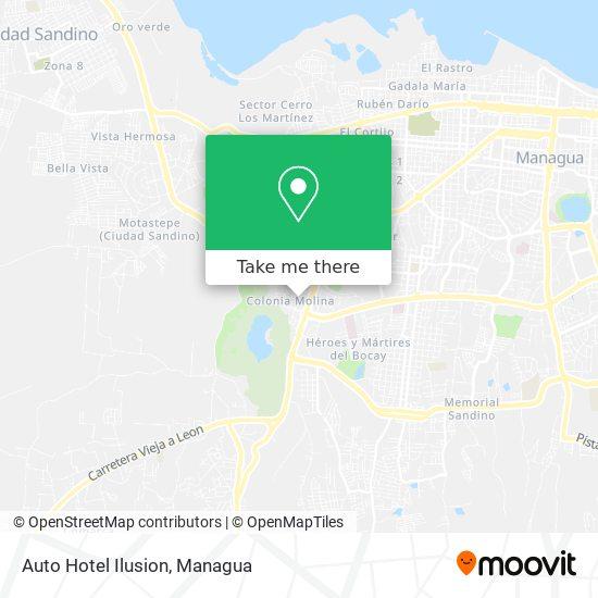 Auto Hotel Ilusion map
