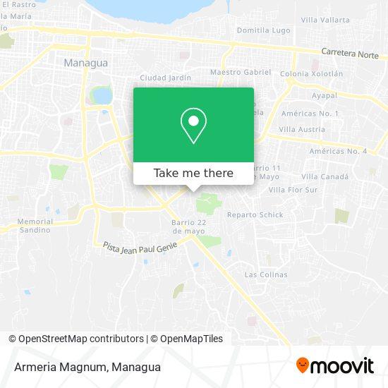 Armeria Magnum map
