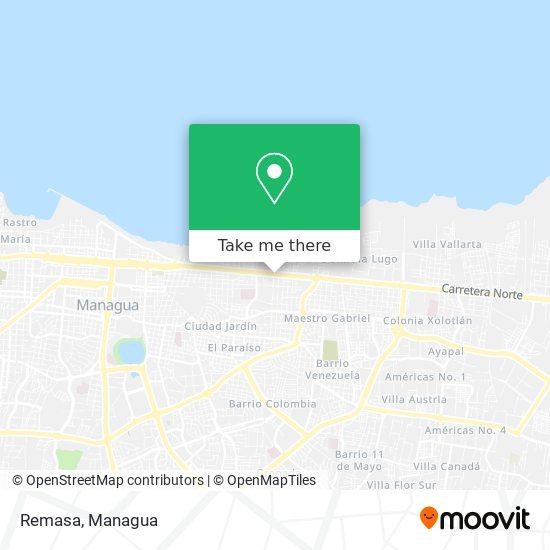 Remasa map