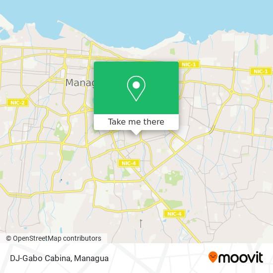 DJ-Gabo Cabina map