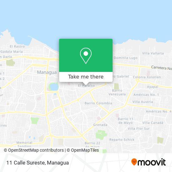 11 Calle Sureste map