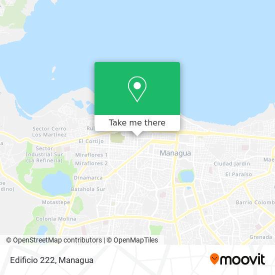 Edificio 222 map