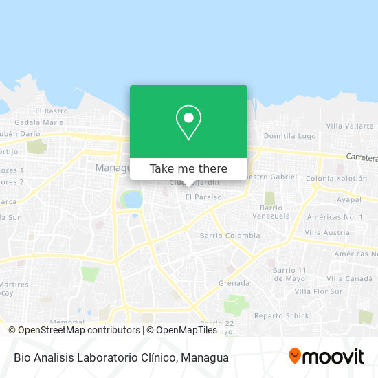 Bio Analisis Laboratorio Clínico map