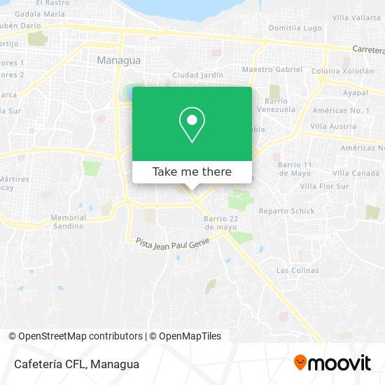 Cafetería CFL map
