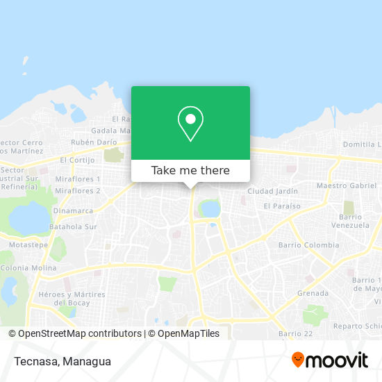 Tecnasa map