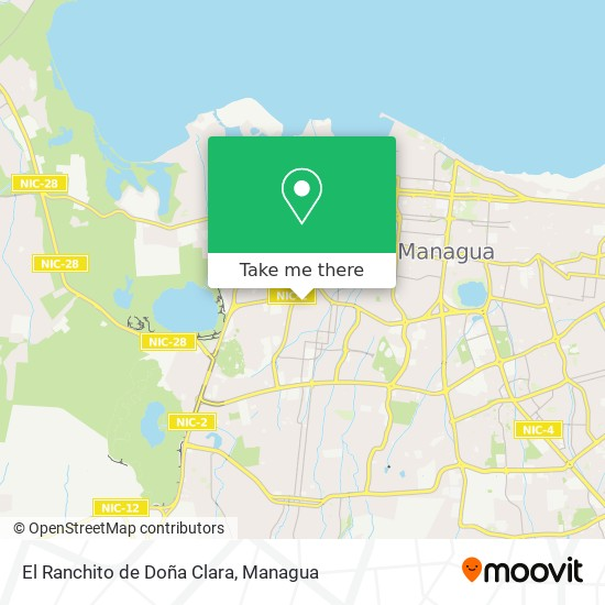 El Ranchito de Doña Clara map