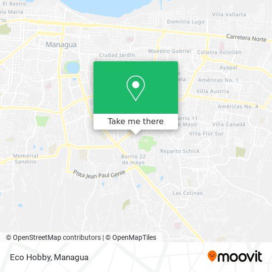 Eco Hobby map