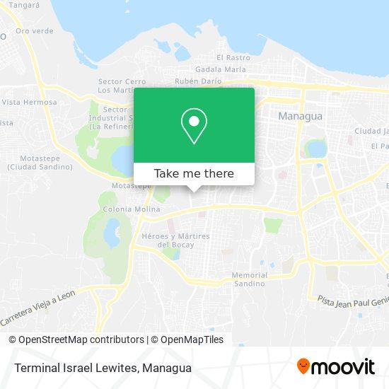 Terminal Israel Lewites map
