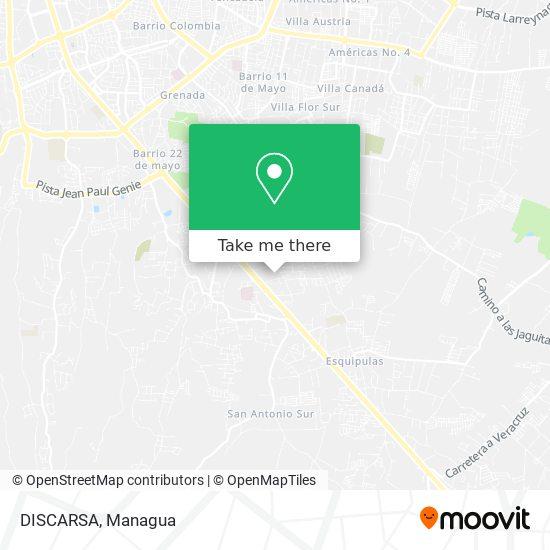 DISCARSA map