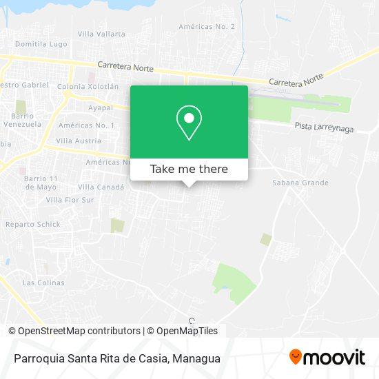 Parroquia Santa Rita de Casia map